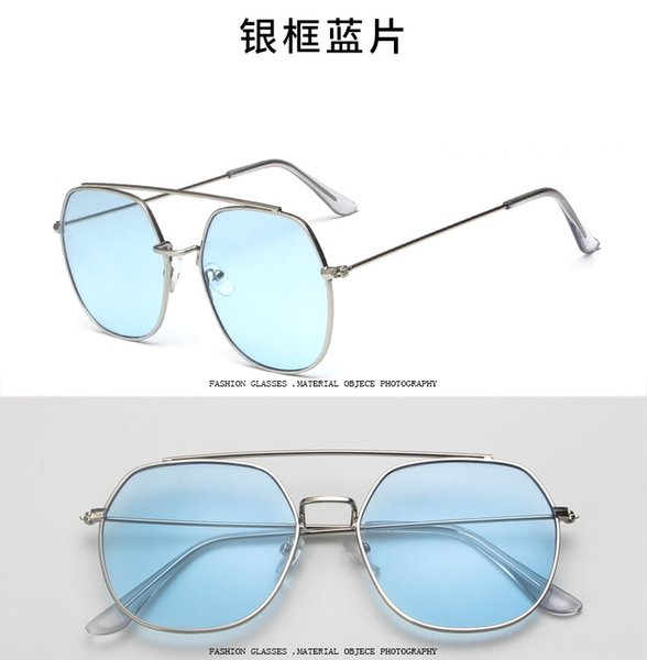 Silver Frame Blue Sheet