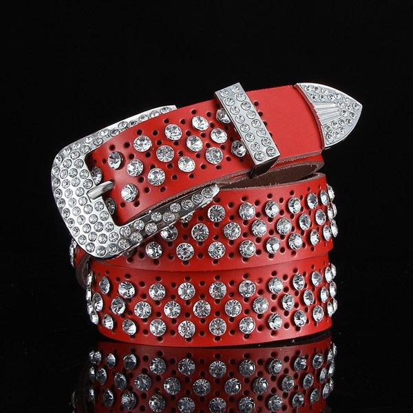 Completa del hueco del diamante rojo