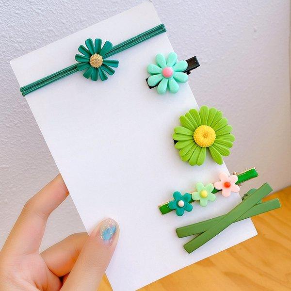 7 # Petite fleur de 5 pièces (sans Pap
