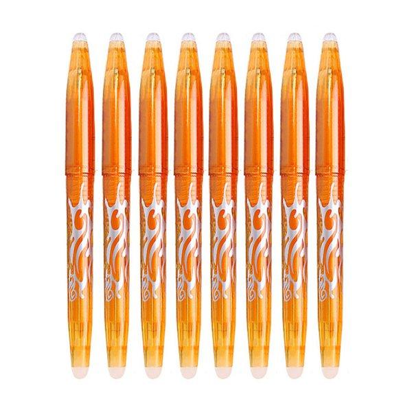 Set 8pcs Naranja pluma-