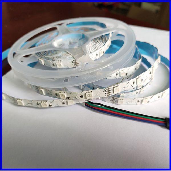 top popular 20M 30M Bluetooth RGB Flexible LED Strip Light Waterproof IP65 SMD 5050 + Mi-light Controller + Amplifier + Power Adaptor for Outdoor 2021