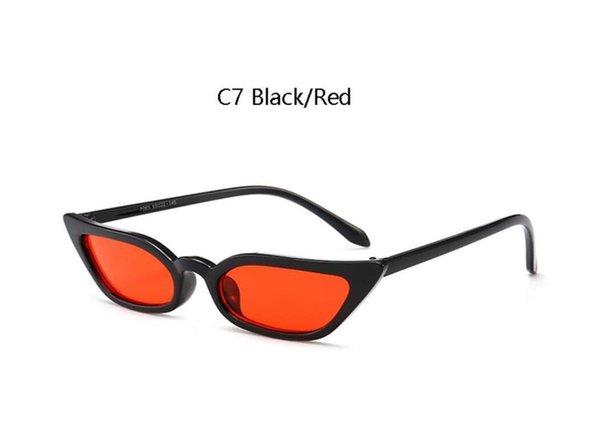 C7 черный красный