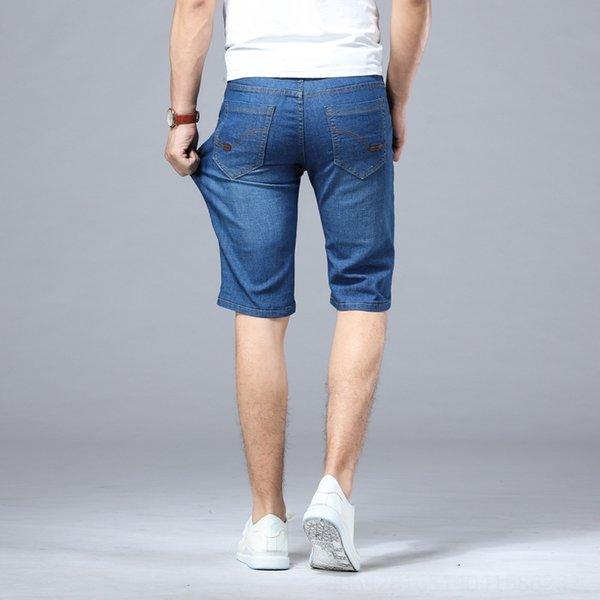 021 Pantalon moyen Bleu clair