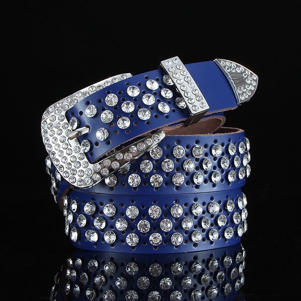 Completa del hueco del diamante azul