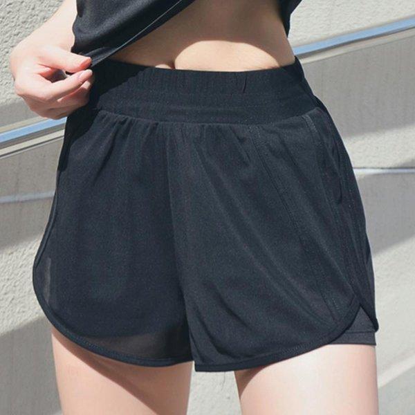 Pantalones cortos de deportes negros