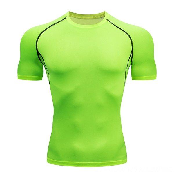 Зеленый с коротким рукавом