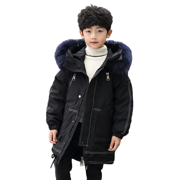 Boys winter jacket 2020 New Boy clothes 8 10 12 14 years old hooded thick warm kids snowsuit coat for boy children clothing kids snowsuit coat for boy children clothing