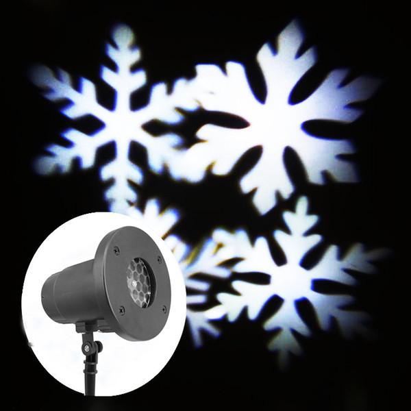 White Snowflake lamp