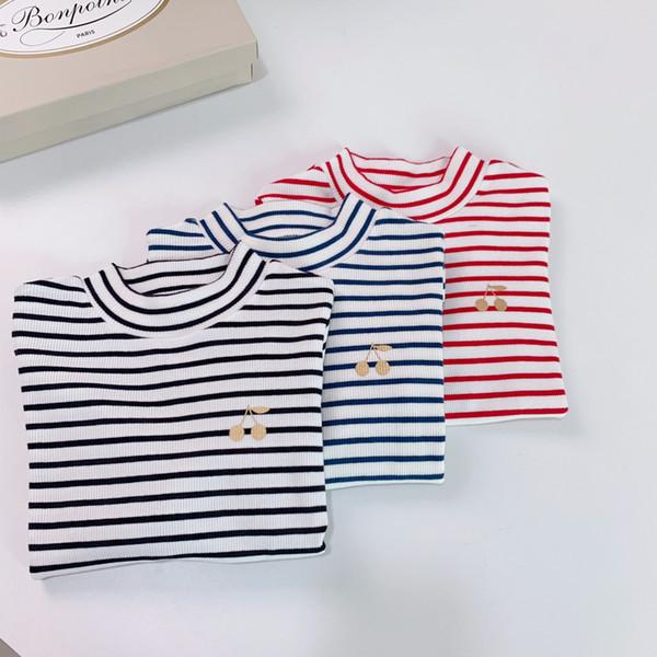 top popular 3 Colors Sweet Girls Autumn Hoodie T shirt Children Long Sleeves Sweatshirts Kids Girl Versatile underwear Clothes 2021