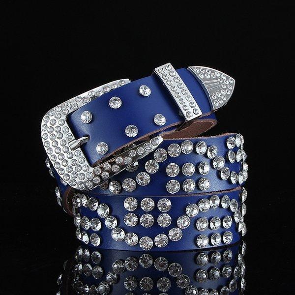 S-tipo completo diamante azul