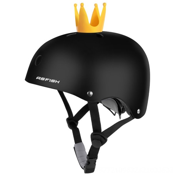Matte Black + Crown