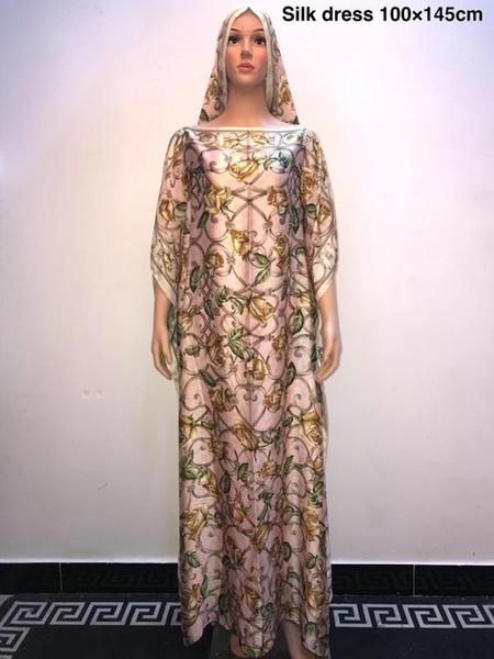 Acheter Taille Plus Confortable Soie Kaftan Belles Robes Longues Robes En Soie Imprimee Dashiki Africaine Pour Dame Africaine Pour Dame De 33 82 Du Manilabest Dhgate Com