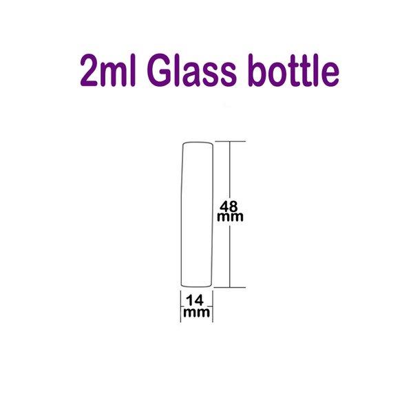 2 ml Glasflasche