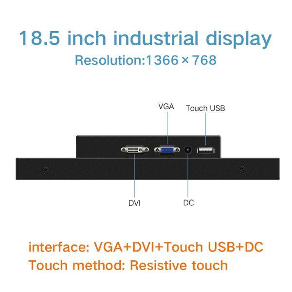 18,5 pouces VGA DVI