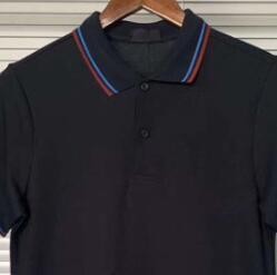 Marine-Blau / blaue Streifen