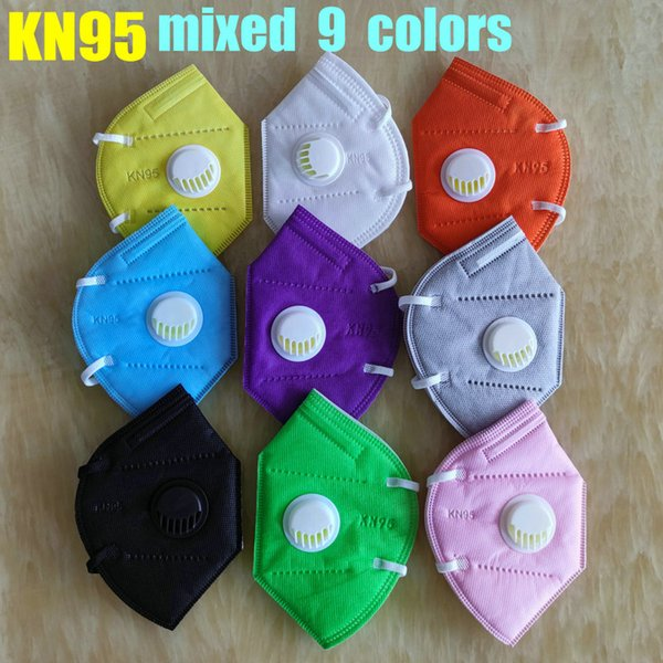 mixed 9 colors with valve