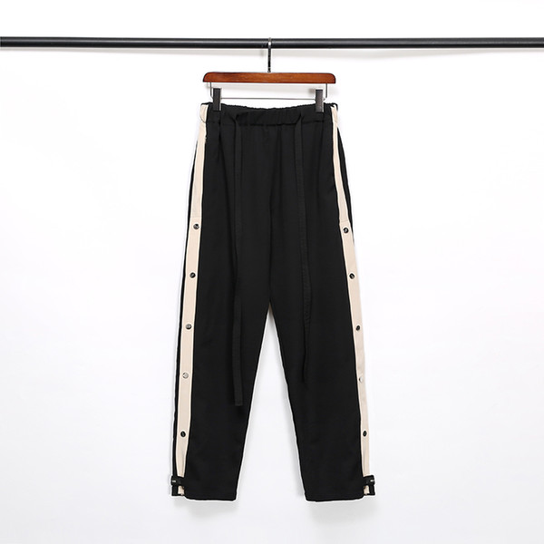 best selling FOG FEAR OF GOD ESSENTIALS Designer Pants for Mens Fashion Drawstring Relaxed Homme man Luxury clothes letters Hip Hop black Sweatpants S-XL