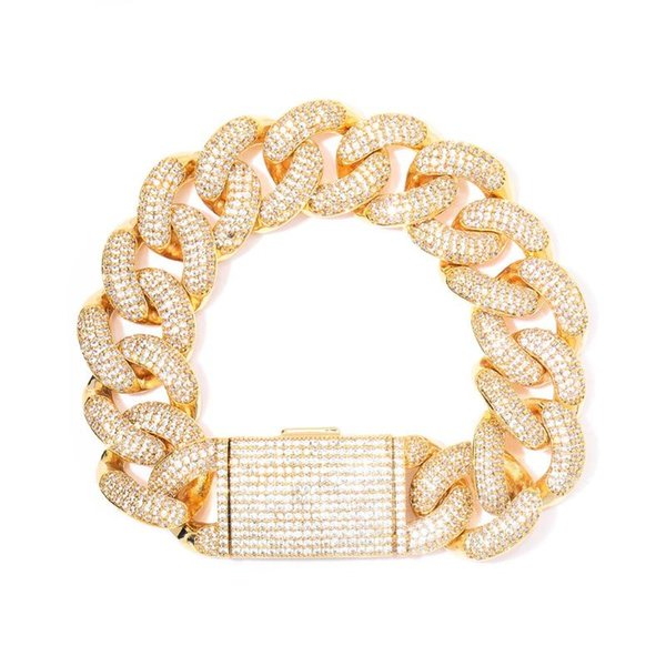 Gold 14mm Short Clasp 7inch