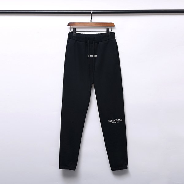 best selling 19SS FOG FEAR OF GOD ESSENTIALS Pants Mens Fashion Drawstring Relaxed Homme man Luxury designer clothes Printed letters Hip Hop Sweatpants
