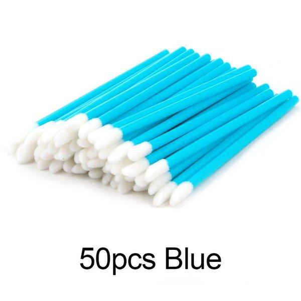 50pcs bleu