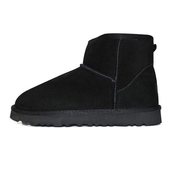 3 mini bota clásica - Negro