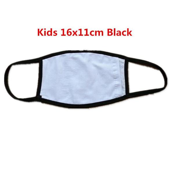 Kinder schwarze Ränder