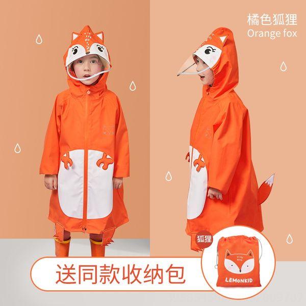 Tridimensional Estilo Raincoat-laranja