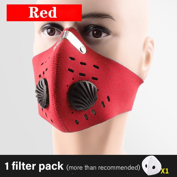 Kırmızı With No Kulak Döngü