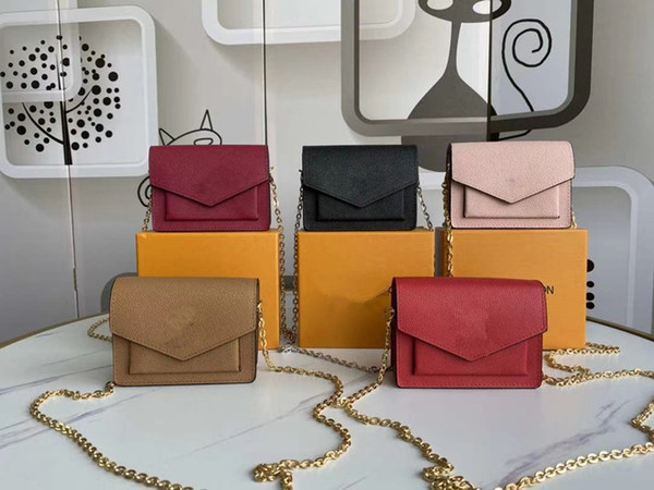 top popular New fashion ladies crossbody bags women handbags purses chain shoulder bags good quality pu leather classic hot sale style ladies tote bag 2020