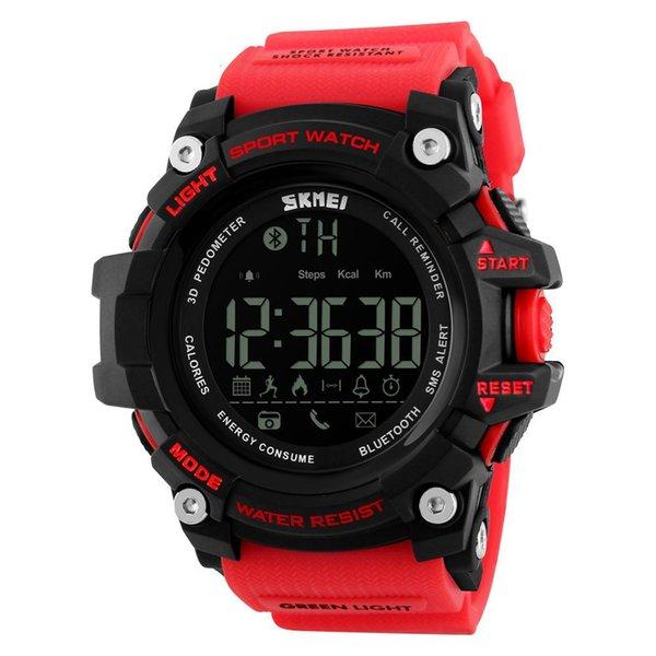 Smart Red Watch