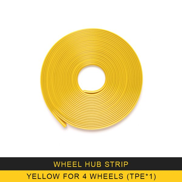 Gelb für 4 Räder