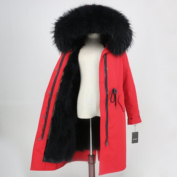 X-larga Negro Rojo
