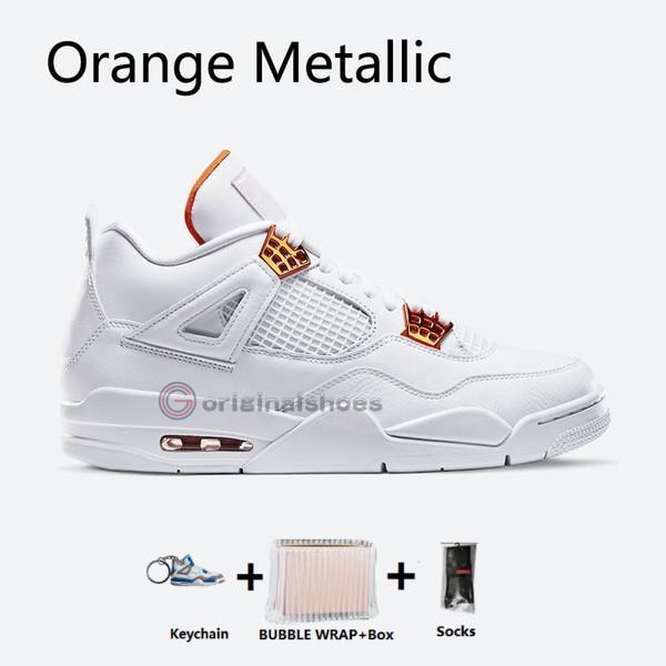 orange métallique