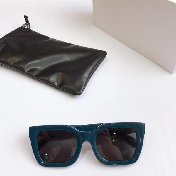 Blue frame black