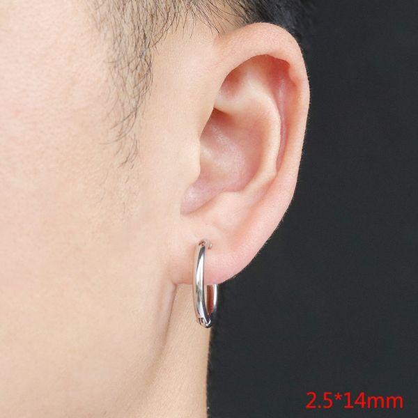 Clip del oído Acero Color 2.5x14 (individual)