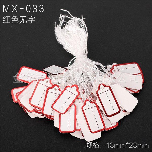 Mx-033-un paquet de 100 pièces