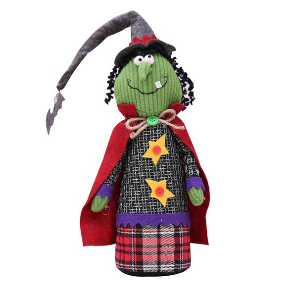 Halloween Long Hat Doll Witch Style