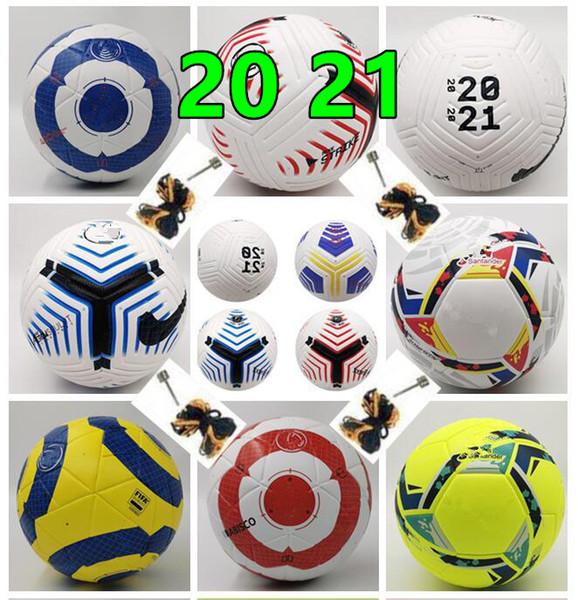 best selling Best PU ball Soccer ball 2020 21 Final KYIV size 5 balls granules slip-resistant football