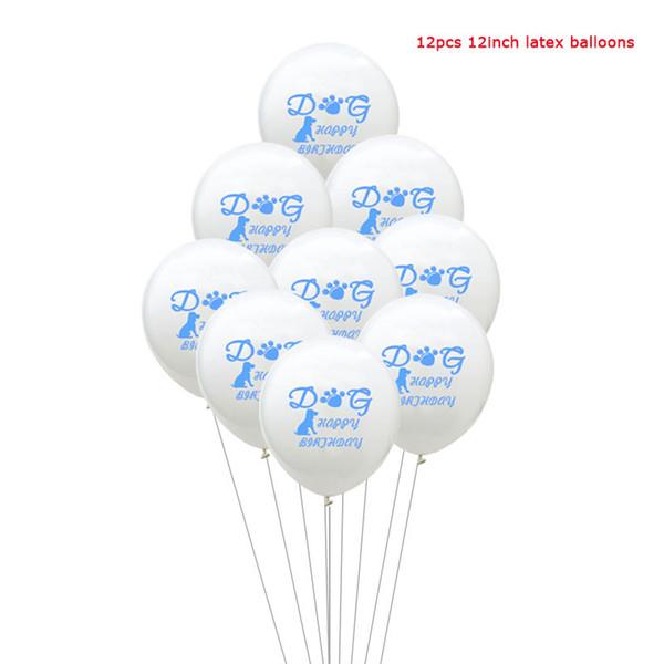12 جهاز كمبيوتر شخصى البالونات الزرقاء