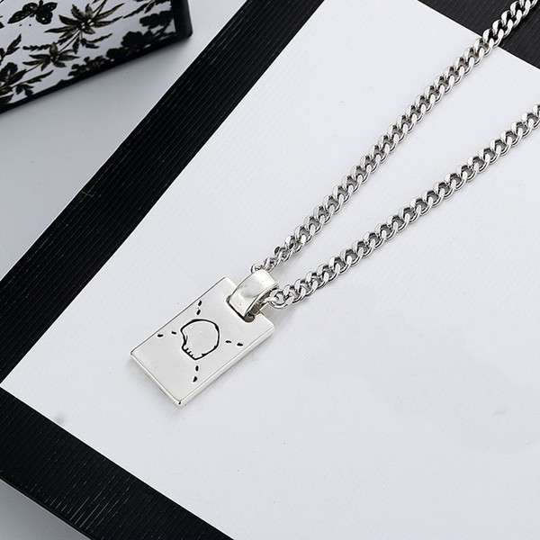 best selling New Long Necklace Fashion Charm Necklace Top Quality Silver Plated Necklace for Unisex Fashion Jewelry Supply