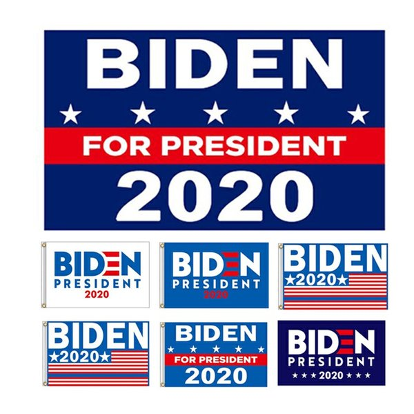 banderas de las elecciones presidenciales Biden