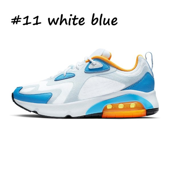 11 белый синий