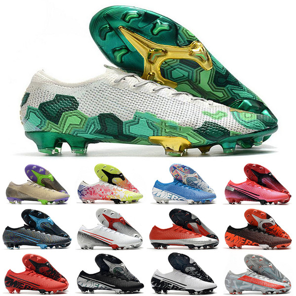 best selling New Lights chuteiras 13 Low ankle Football Shoes Mercurial Superfly 7 Elite 360 FG Mens women kids boy Soccer Cleats EUR35-45