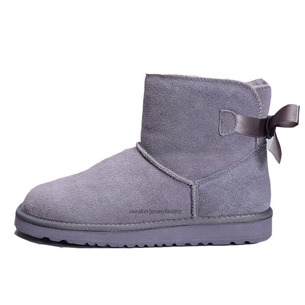A1 Bow Ankle Boots
