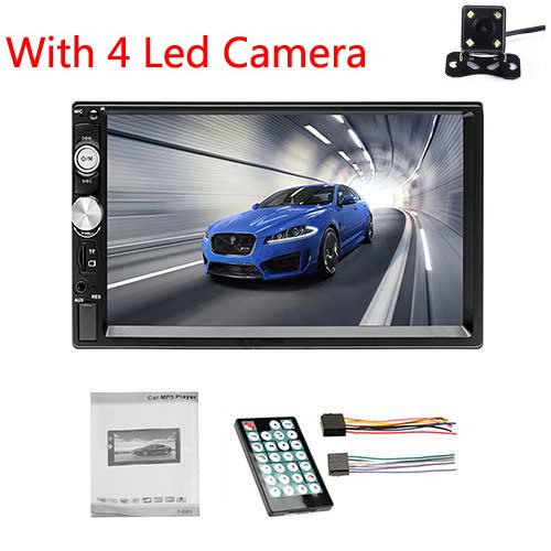 With 4 LED Camera