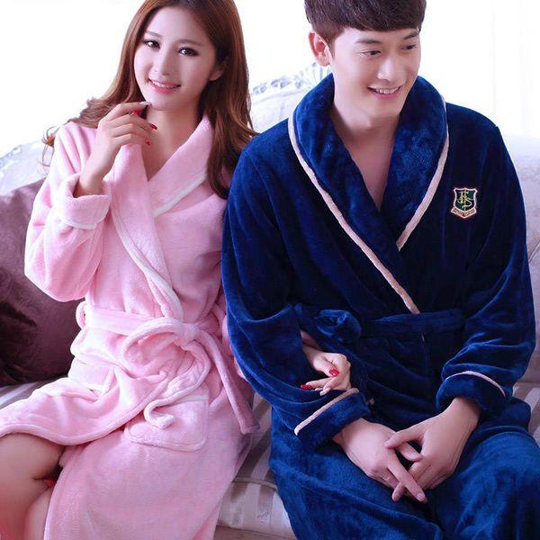 Пара-темно-синий с розовыми-мужчинами # 039, S Robe