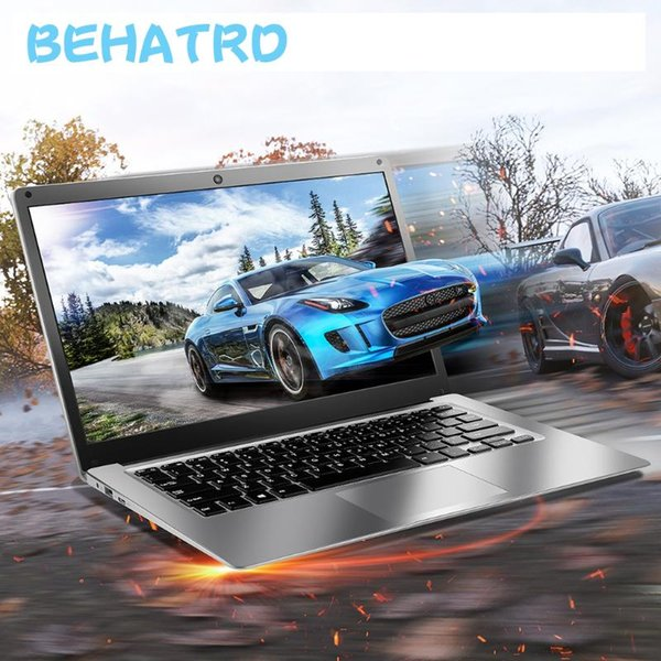 best selling Ultra-thin Quad-Core Laptop 14'' Screen Display 1366X768P 4G+64G Windows10 notebook Office work Product Laptops 23g2