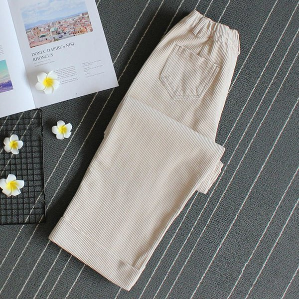 Creamy-white Pants