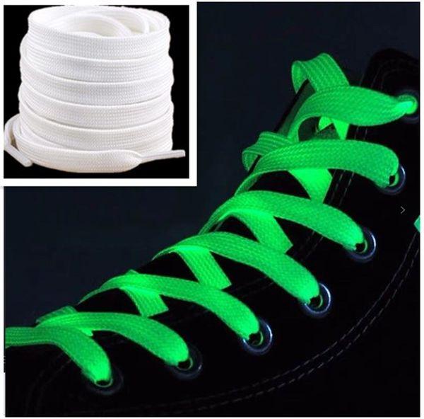 Белый шнурок