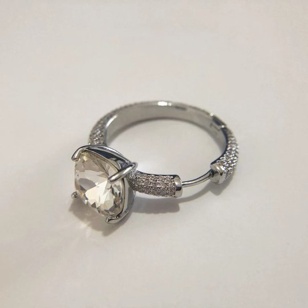 Argent diamant unique